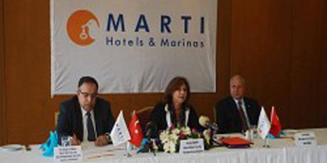 Martı İstanbul Otel'inin yönetimi