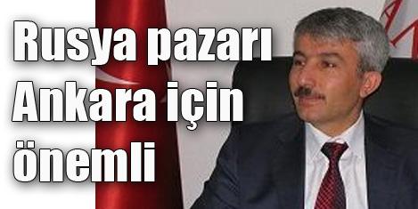 Rusya Ankara turizmi için önemli