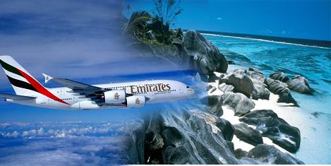 Emirates Seyşeller'i arttırıyor