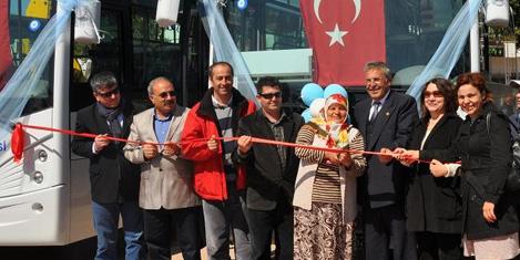 Turgutreis'e konforlu halk otobüsü