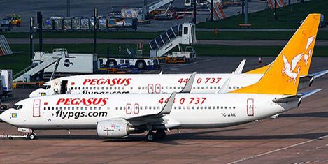 Pegasus kartı alana uçak bileti