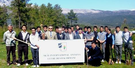 Skal Antalya ormanı kuruluyor