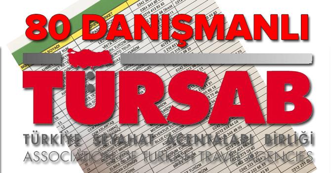 TÜRSAB'ın başkan danışman kadrosu 80 kişi oldu