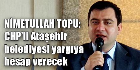 Ataşehir'de AK Parti CHP davalık