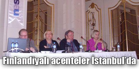 Finlandiyalı acenteler İstanbul'da