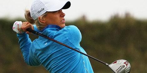 Avrupalı bayan golfçüler Calista'da