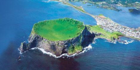 Jeju adası, doğa harikası adayı