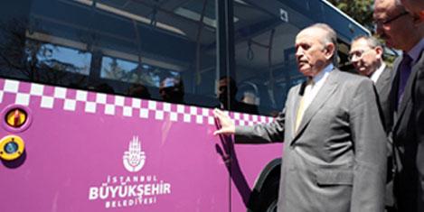 İstanbullu erguvan otobüsü seçti