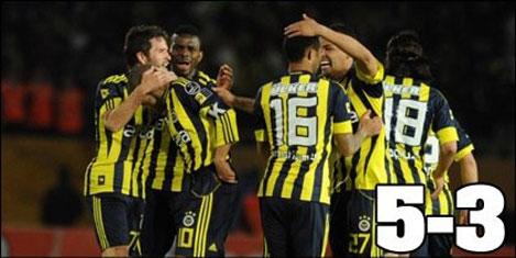 İzmir'de gol düellosu 5-3