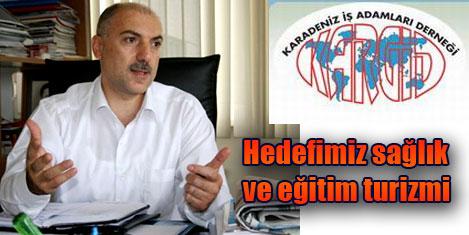Trabzon'un turizm hedefi sağlık
