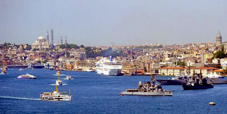 ABD'li turist İstanbul'u keşfetti