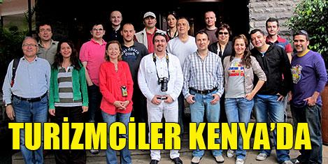 Türk turizmciler Kenya'da - 1