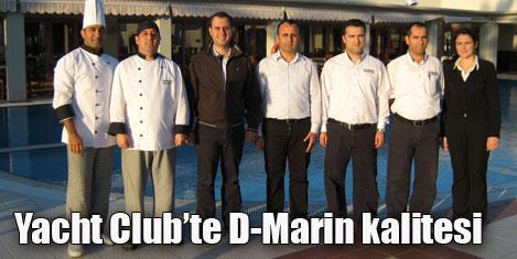 D-Marin Turgutreis'te lezzet şöleni