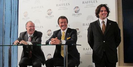 Raffles, İstanbul'a Zorlu  ile geliyor