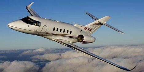 8 kişilik jet yolcu uçağı icralık oldu