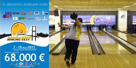 İstanbul'da bowling heyecanı