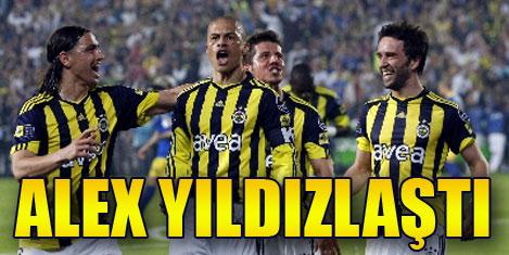 Alex Fenerbahçe'yi taşıyor