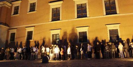 Gece ücretsiz olan müzelere akın