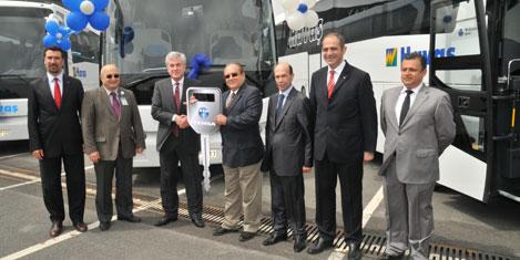 Havaş'ın filosuna 18 otobüs
