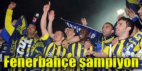 Fenerbahçe 18 kez şampiyon