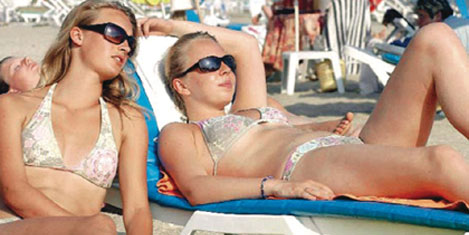 Turist sayısı, 4 ayda %21.14 arttı