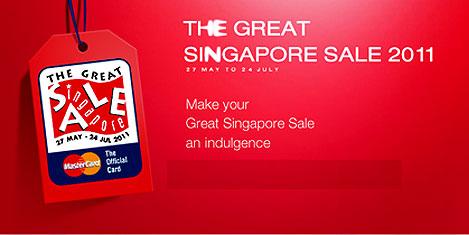 Singapur'da alışveriş festivali