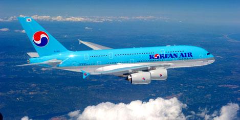 Kore Havayollarına ilk A380