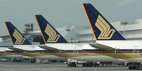 Singapur Havayolları sponsor