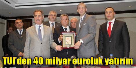 TUI'den 40 milyon euroluk yatırım