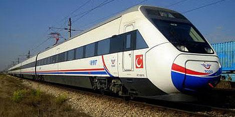 Diyarbakır - Şanlıurfa Hızlı Treni