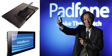 Asus'tan yeni telefon: Padfone