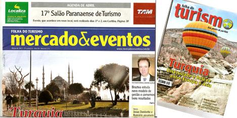 Brezilya dergilerinde Türkiye
