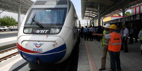 Hızlı trene 400 milyon avro geliyor