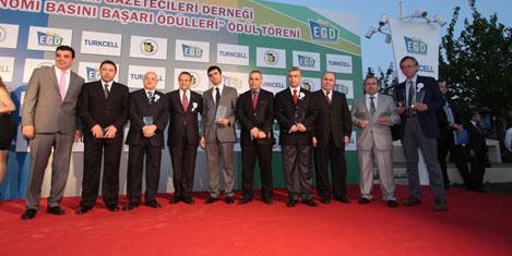 Egd'nin Başarı Ödülleri verildi