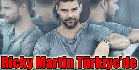Ricky Martin 8 TIR'la geliyor