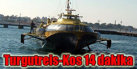Fanos feribot ile Turgutreis-Kos