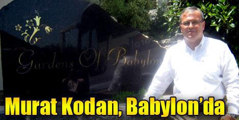 Murat Kodan Bodrum Babylon'da
