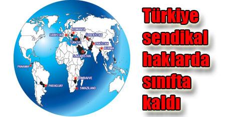 Türkiye ILO'da kara listede