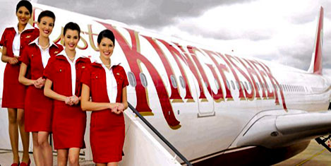 Kingfisher Airlines'ta 9 yeni uçuş