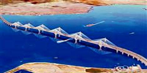 Köprü asılma seviyesi geçildi