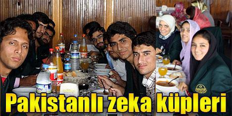 Pakistanlı 25 zeki öğrenci geldi