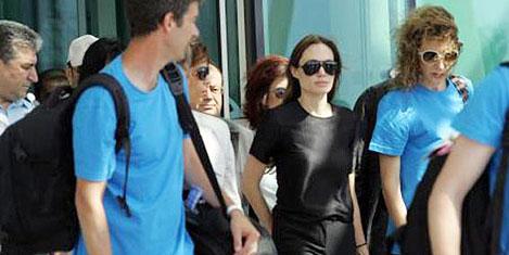 Angelina Jolie Hatay'a geldi
