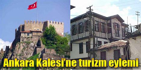 Ankara Kalesi, turizm eylem planı