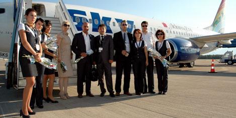 Sky Airlines, Kuveyt seferinde