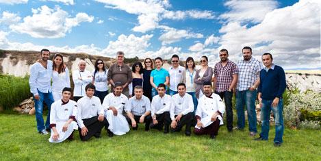 Lykia acentaları Kapadokya'da