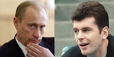 Prokhorov, Putin'e meydan okudu