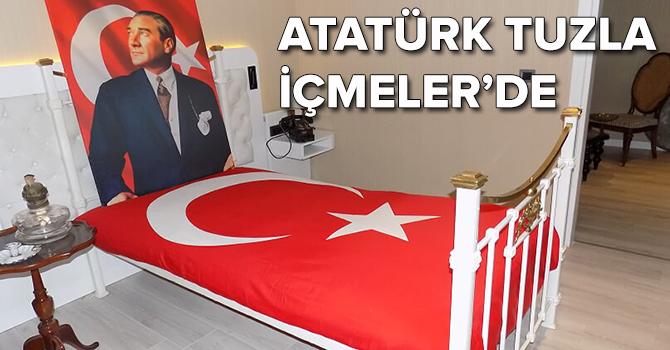Atatürk İçmeler'de: Unutturamaz onu hiçbir şey