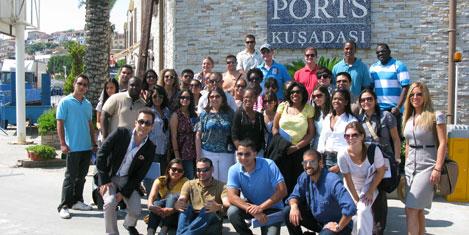 Amerikalı öğrenciler Ege Ports'da