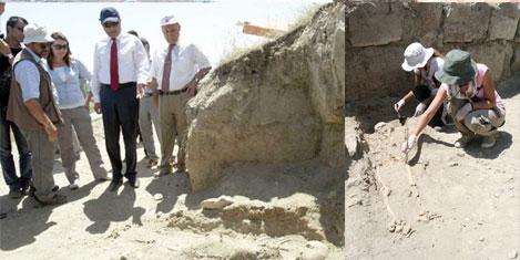 Altıntepe kazılarında, 3 iskelet