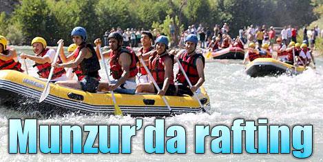 Munzur Vadisi'nde rafting